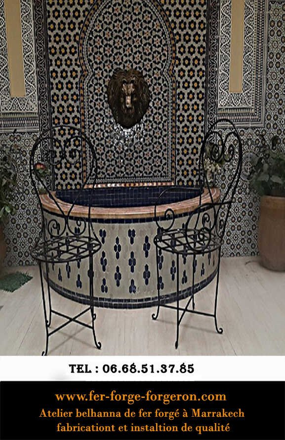 Atelier-chaise-marocaine-fer-forge